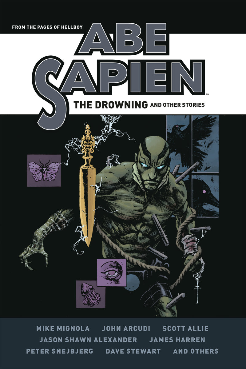 ABE SAPIEN DROWNING & OTHER STORIES HC (C: 0-1-2)