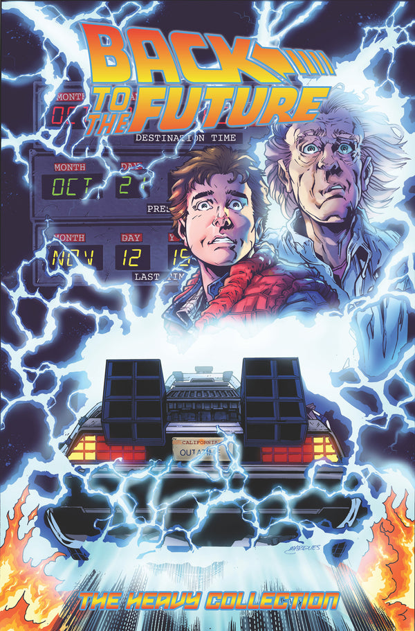 BACK TO THE FUTURE THE HEAVY COLL TP VOL 01 (C: 0-1-2)
