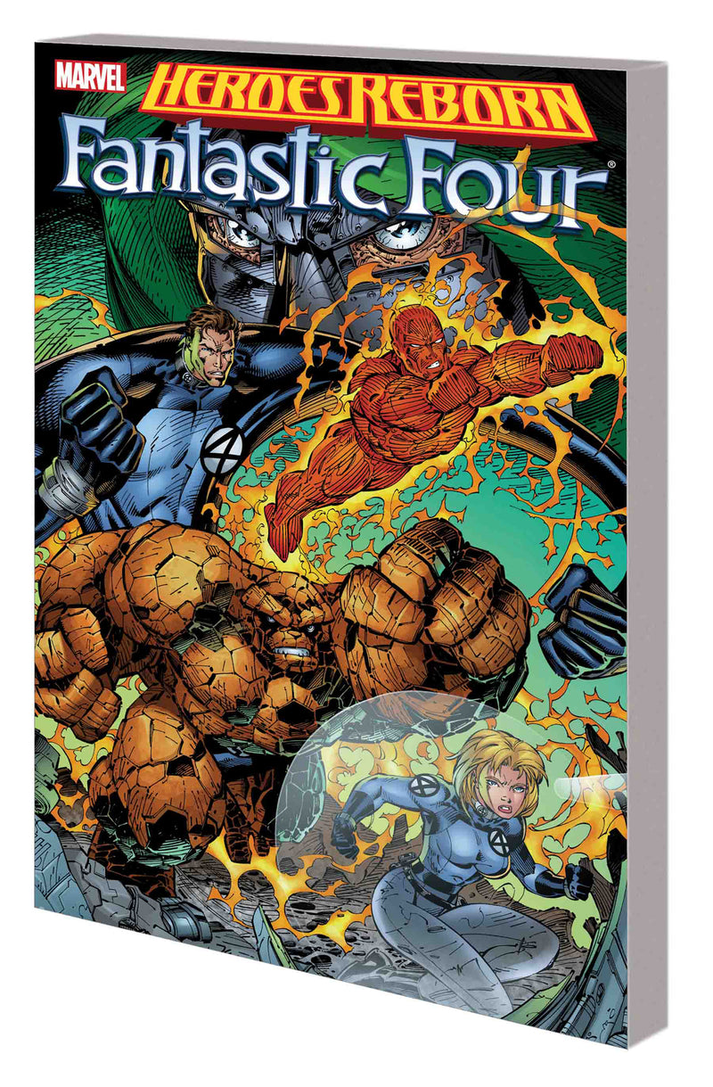 HEROES REBORN TP FANTASTIC FOUR NEW PTG