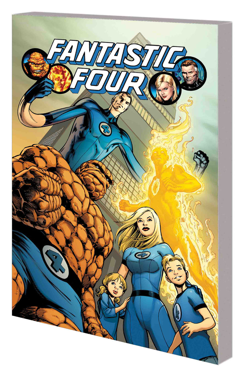 FANTASTIC FOUR BY HICKMAN COMPLETE COLLECTION TP VOL 01