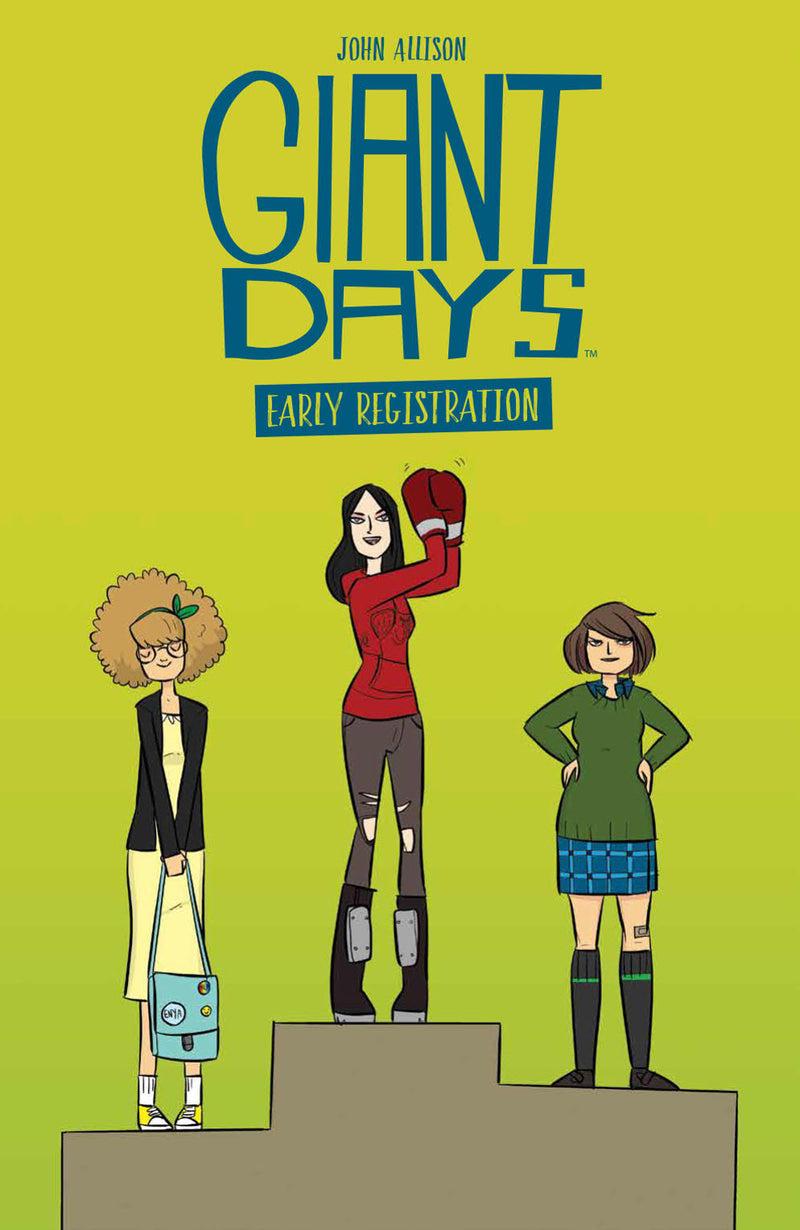GIANT DAYS EARLY REGISTRATION TP (C: 0-1-2)