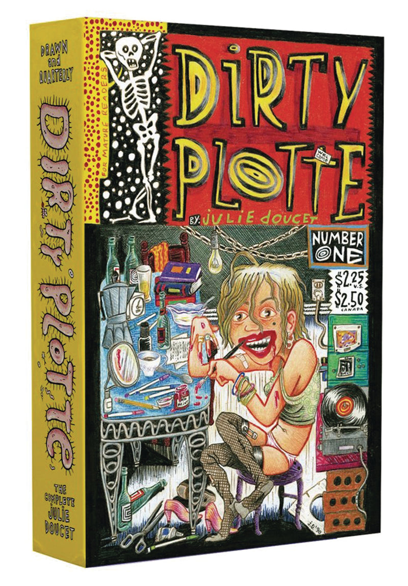 DIRTY PLOTTE GN BOX SET COMPLETE JULIE DOUCET (MR) (C: 0-1-2