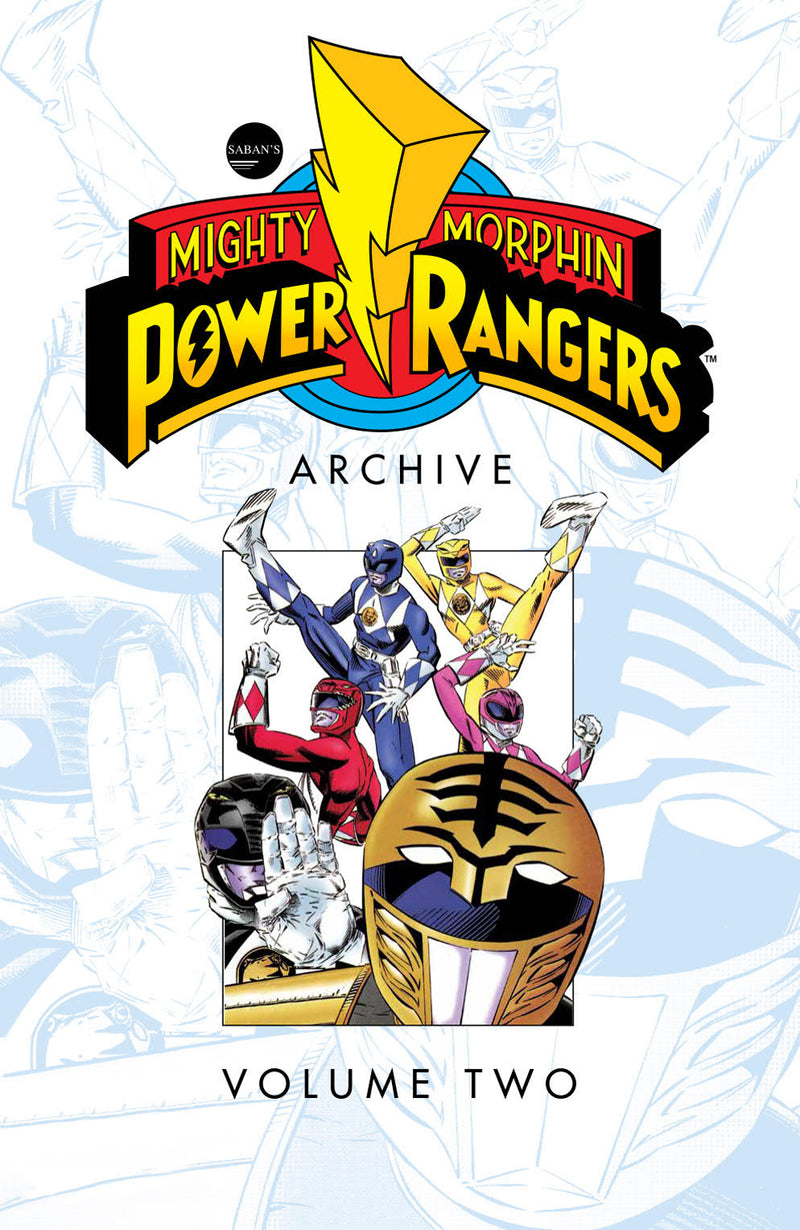 MIGHTY MORPHIN POWER RANGERS ARCHIVE TP VOL 02 (C: 1-1-2)