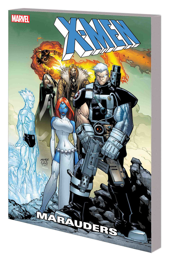 X-MEN MARAUDERS TP