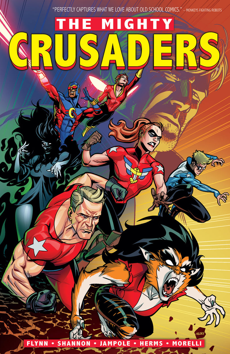 MIGHTY CRUSADERS TP VOL 01