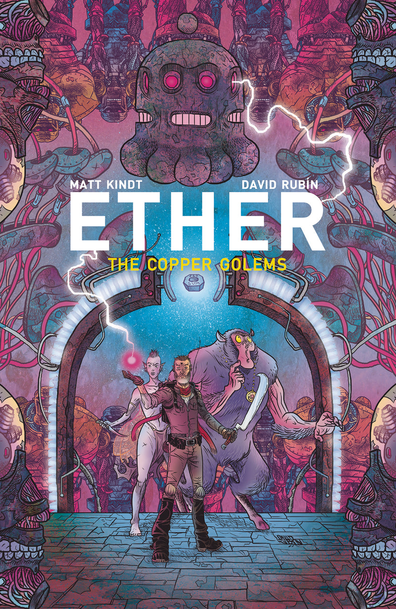 ETHER II TP VOL 02 COPPER GOLEMS (C: 0-1-2)