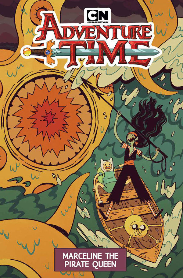 ADVENTURE TIME MARCELINE PIRATE QUEEN ORIGINAL GN (C: 1-1-2)
