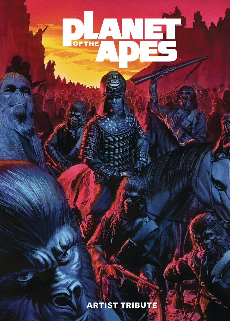 PLANET OF THE APES ARTIST TRIBUTE HC (C: 0-1-2)
