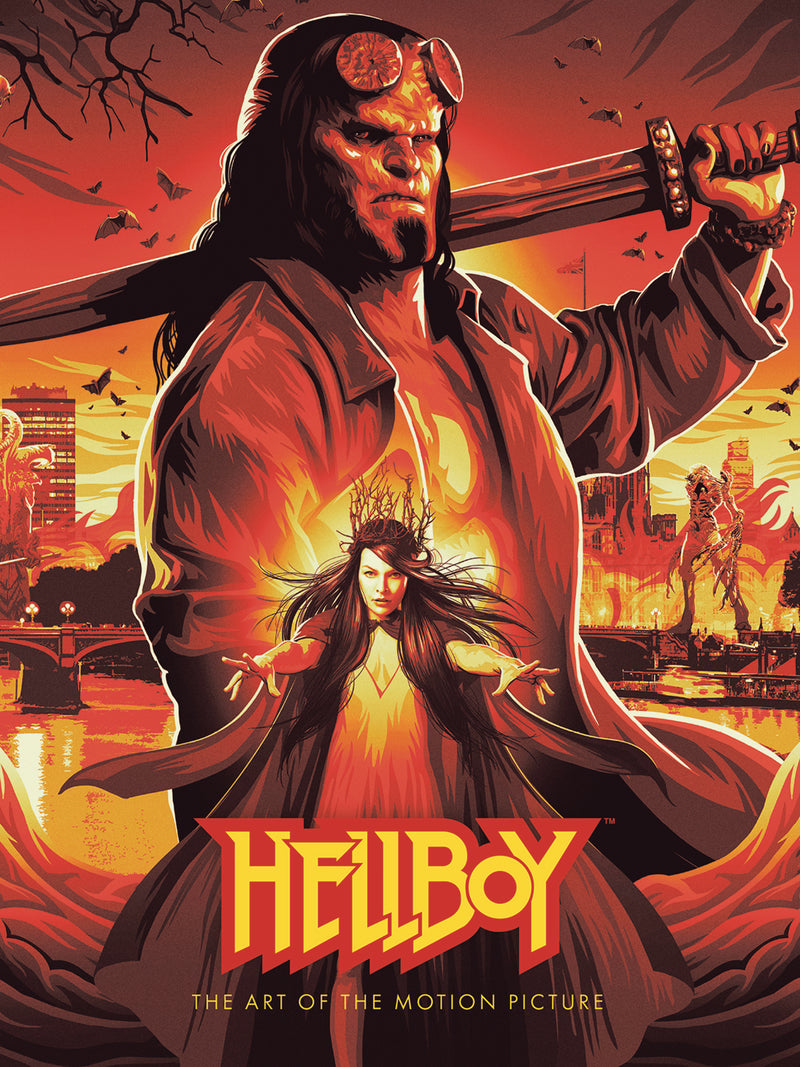 HELLBOY HC ART OF MOTION PICTURE (C: 0-1-2)