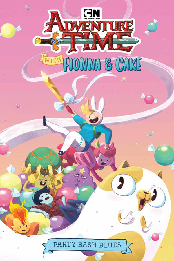 ADVENTURE TIME FIONNA CAKE ORIGINAL GN BASH BLUES (C: 1-1-2)