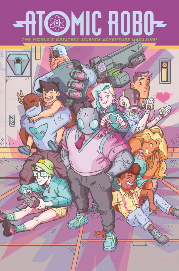 ATOMIC ROBO AND DAWN OF NEW ERA TP VOL 01 (C: 0-1-2)