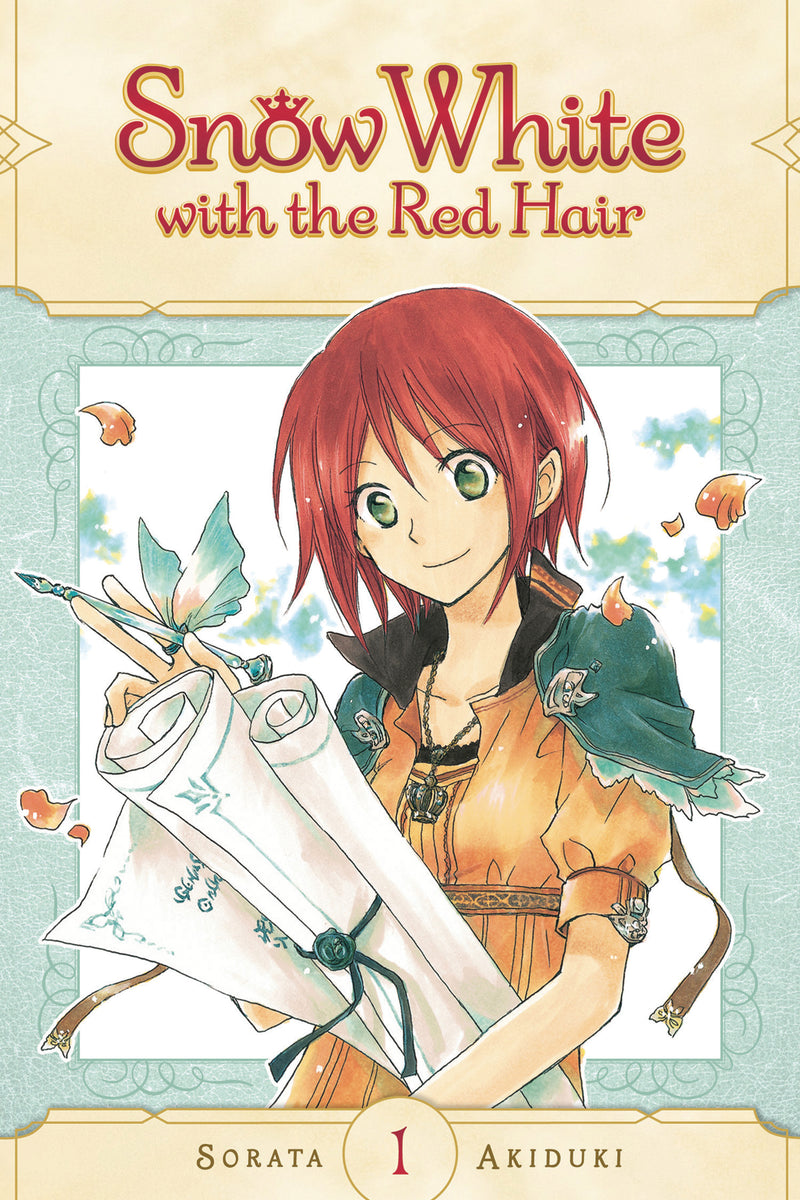 SNOW WHITE WITH RED HAIR GN VOL 01 (C: 1-0-1)