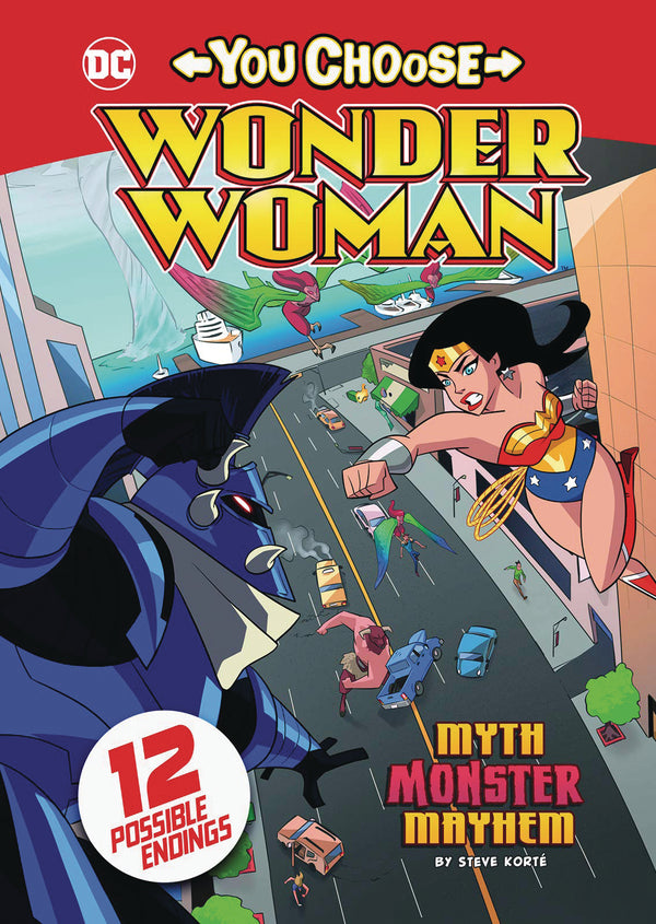 WONDER WOMAN YOU CHOOSE SC MYTH MONSTER MAYHEM (C: 0-1-0)