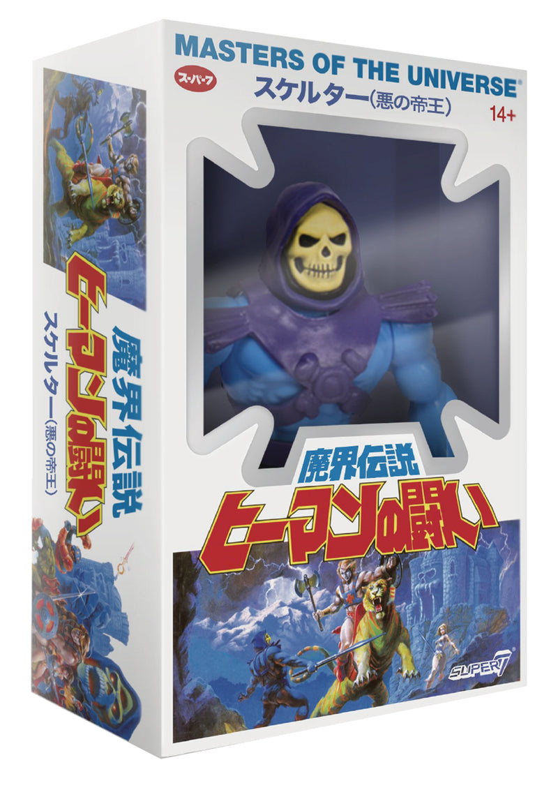 MOTU 5.5IN VINTAGE WAVE 4 SKELETOR AF JAPANESE BOX