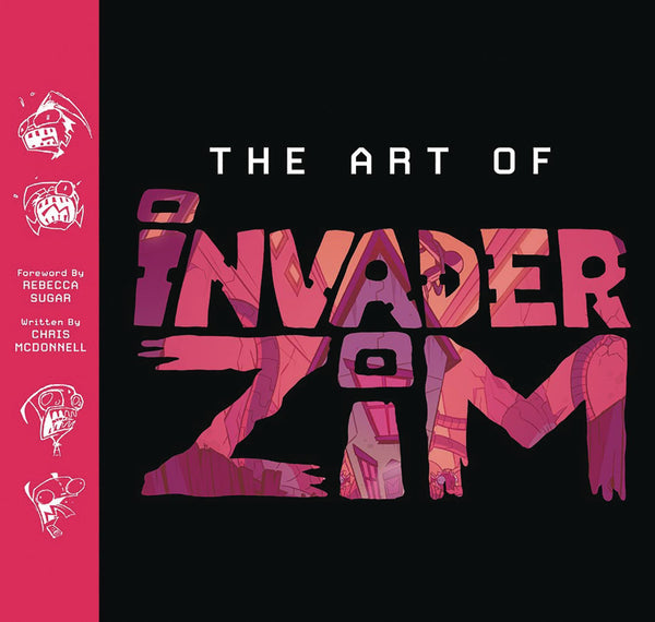 ART OF INVADER ZIM HC