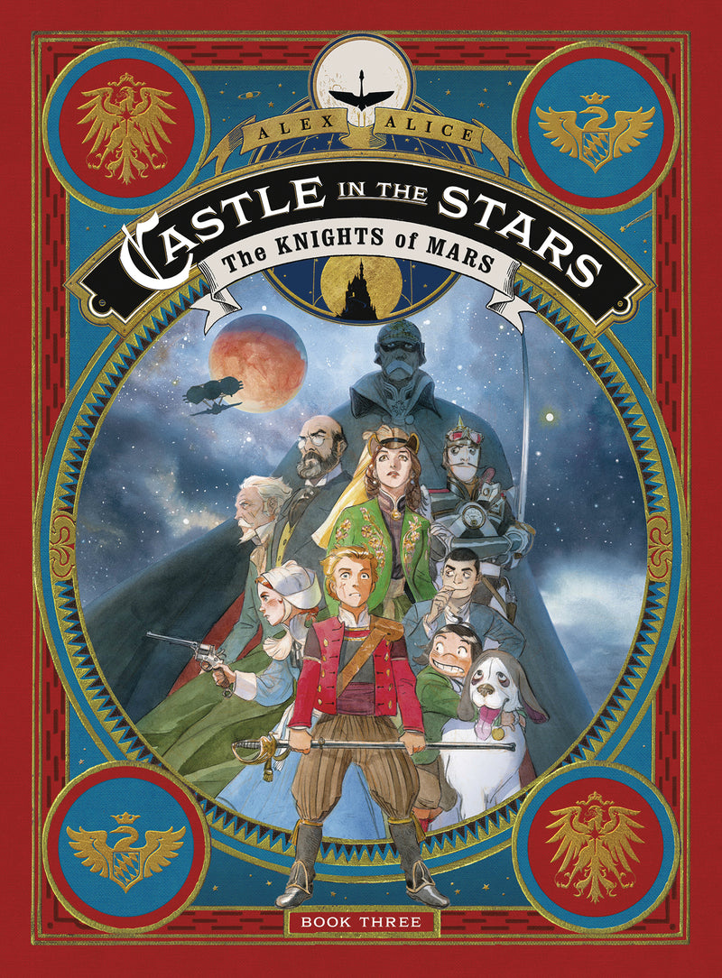 CASTLE IN THE STARS HC GN VOL 03 KNIGHTS OF MARS (C: 1-1-0)