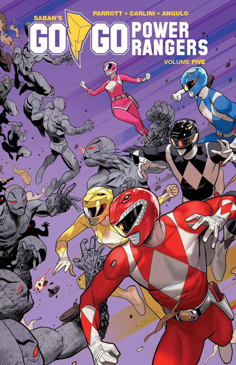GO GO POWER RANGERS TP VOL 05 (C: 1-1-2)