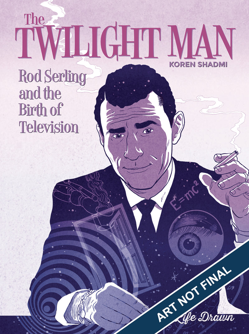 TWILIGHT MAN ROD SERLING BIRTH OF TELEVISION SC (MR)