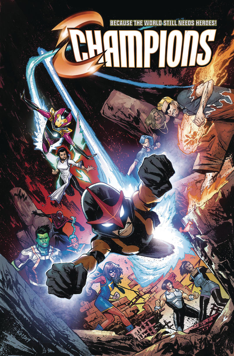 CHAMPIONS BY JIM ZUB TP VOL 02