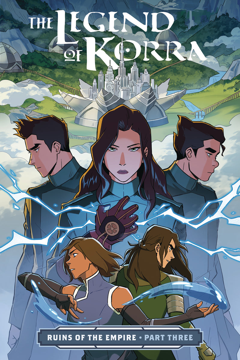 LEGEND OF KORRA TP PART 03 RUINS OF EMPIRE (C: 1-1-2)