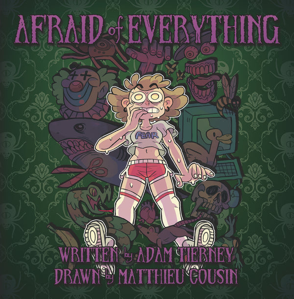 AFRAID OF EVERYTHING HC GN (C: 0-1-2)