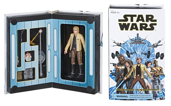 SW BLACK CON EXC LUKE SKYWALKER CELEBRATION 6IN AF