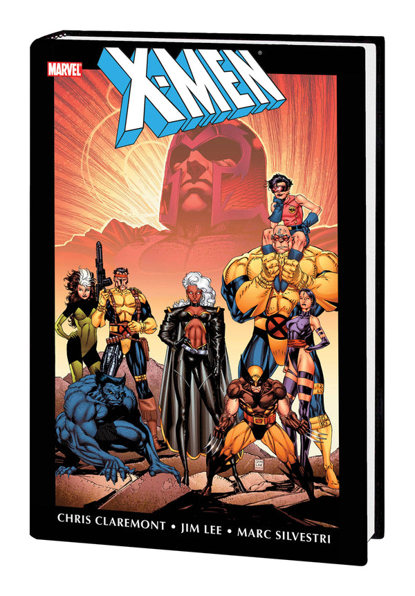 X-MEN BY CHRIS CLAREMONT & JIM LEE OMNIBUS HC VOL 01 NEW PTG