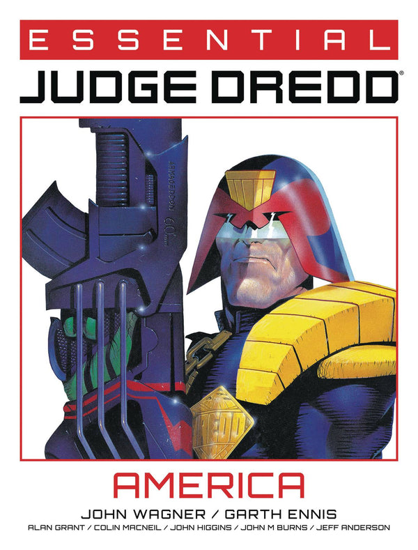ESSENTIAL JUDGE DREDD AMERICA TP (MR) (C: 0-1-1)