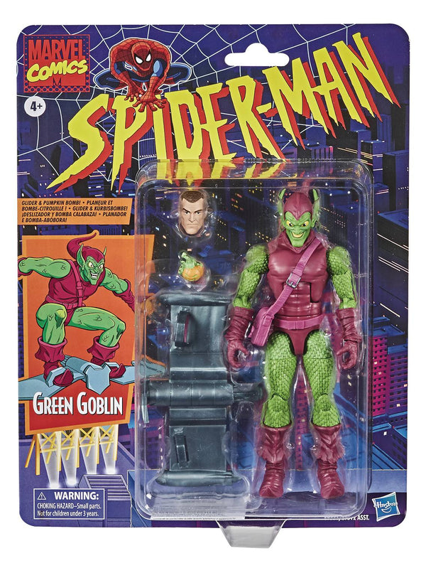 SPIDER-MAN VINTAGE GREEN GOBLIN 6IN AF