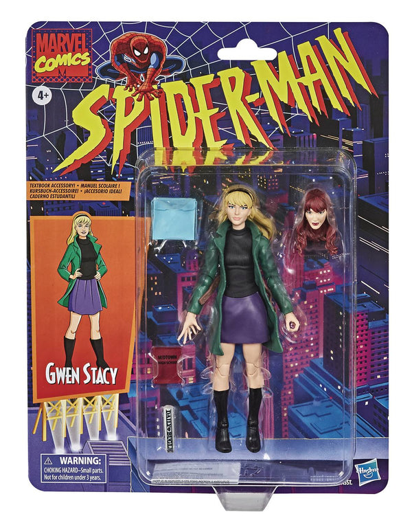 SPIDER-MAN VINTAGE GWEN STACY 6IN AF