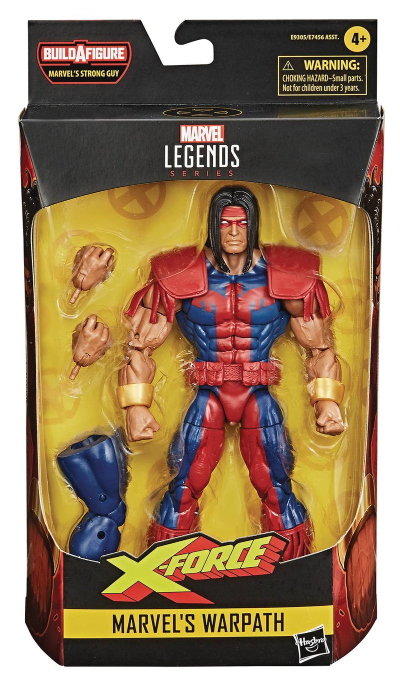 MARVEL DEADPOOL LEGENDS 6IN WARPATH AF