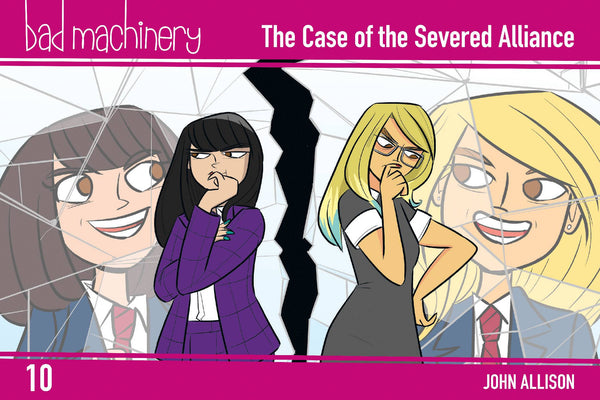 BAD MACHINERY POCKET ED GN VOL 10 CASE OF THE SEVERED ALLIAN