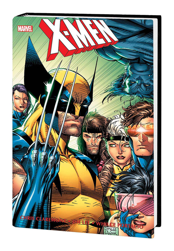 X-MEN BY CHRIS CLAREMONT & JIM LEE OMNIBUS HC VOL 02 NEW PTG