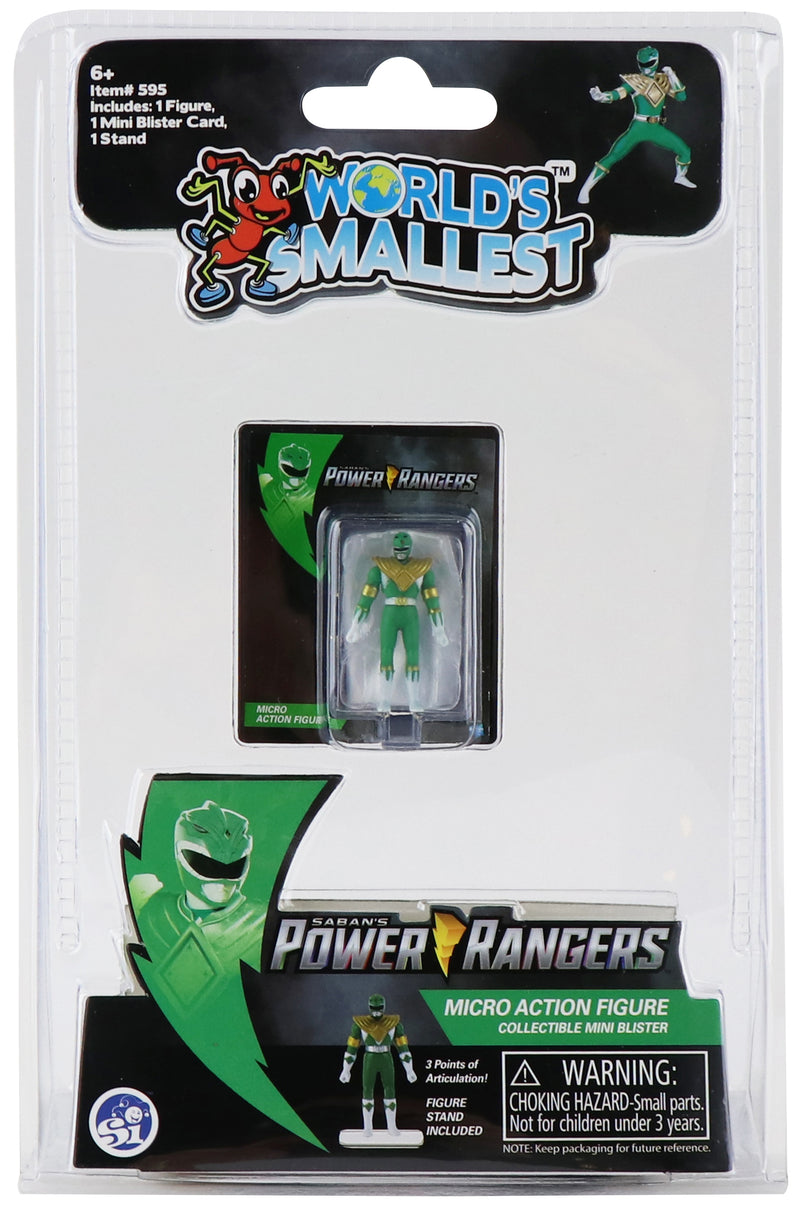 WORLDS SMALLEST MMPR GREEN