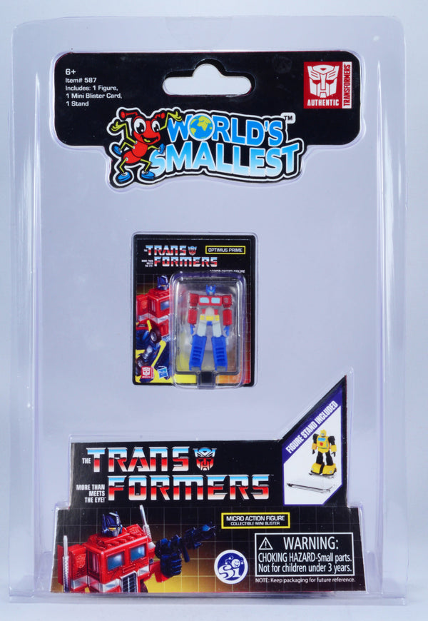 WORLDS SMALLEST TRANSFORMERS FIGURE OPTIMUS PRIME