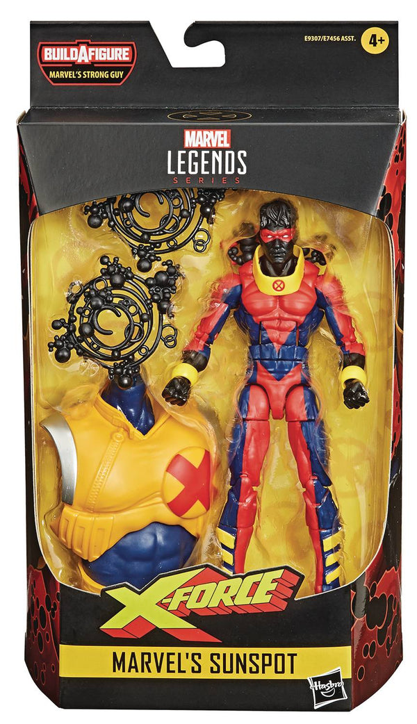 MARVEL DEADPOOL LEGENDS 6IN SUNSPOT AF