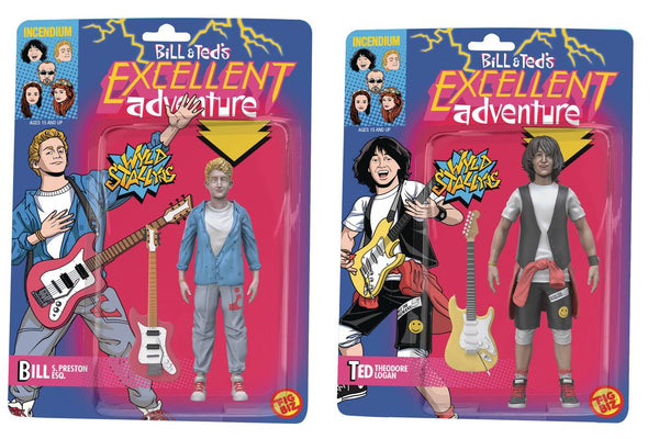BILL AND TEDS EXCELLENT ADVENTURE BILL & TED 5IN AF SET