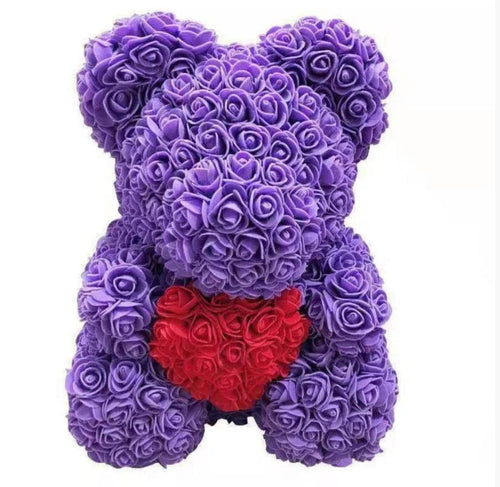 Rose Teddy Bear Keepsakes