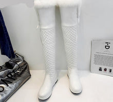Load image into Gallery viewer, Over the Knee Winter Boots