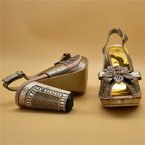Italian Designed Shoes with Matching Bags