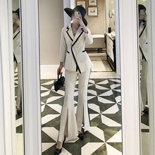 Load image into Gallery viewer, 2 Pc flared Pants Suit