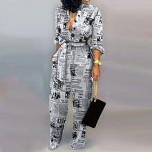Load image into Gallery viewer, Black & White Jumpsuit