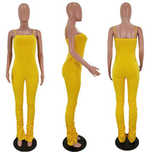 Load image into Gallery viewer, Ruched Jumpsuit