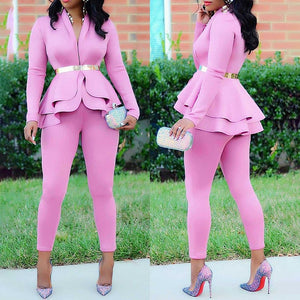 2 two piece suit sets