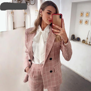 plaid suits