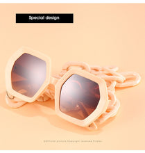 Load image into Gallery viewer, Unique Chain Sunglasses