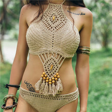 Load image into Gallery viewer, 2 pc crochet Swimsuit