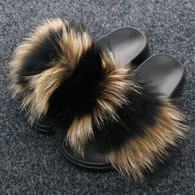 Load image into Gallery viewer, Fur Slippers