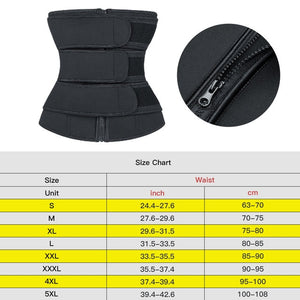 Waist Trainer Body Shaper Belts