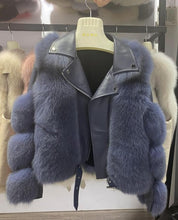 Load image into Gallery viewer, Real Fox Fur Coats